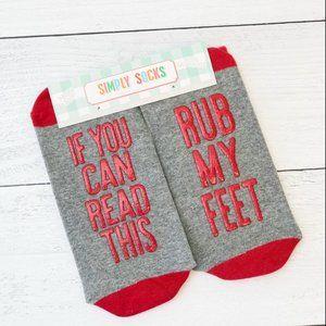 🌺 Simply Southern, Saying Simply Socks -  Feet